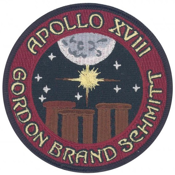 Apollo 18 Mission Badge - Pics about space